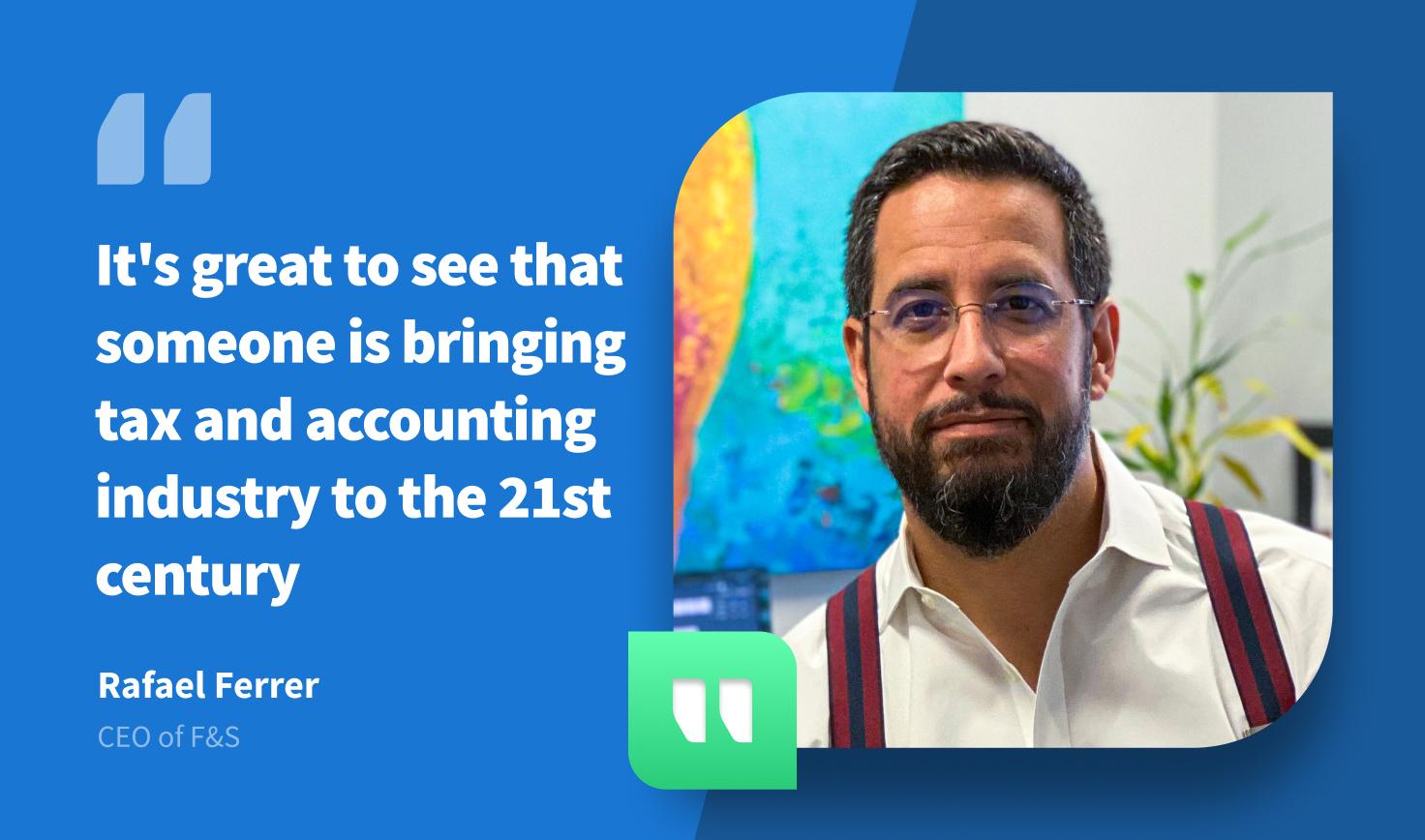 F&S Projects su TaxDome 'Portare l'industria fiscale e contabile nel 21° secolo
