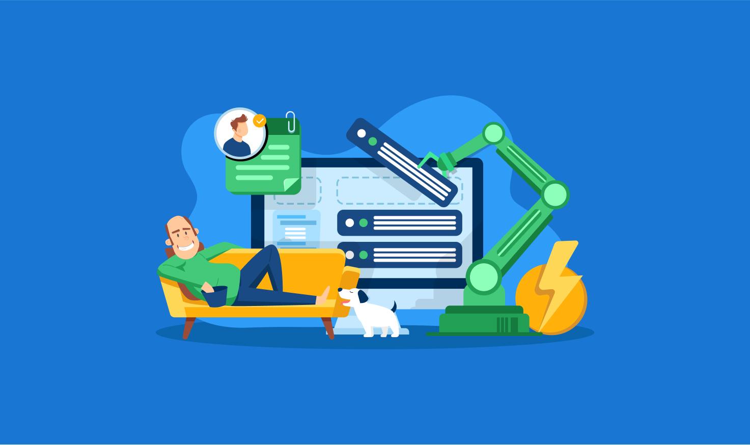 Mettez en place votre flux de travail en pilote automatique avec des projets et des Automove programmées