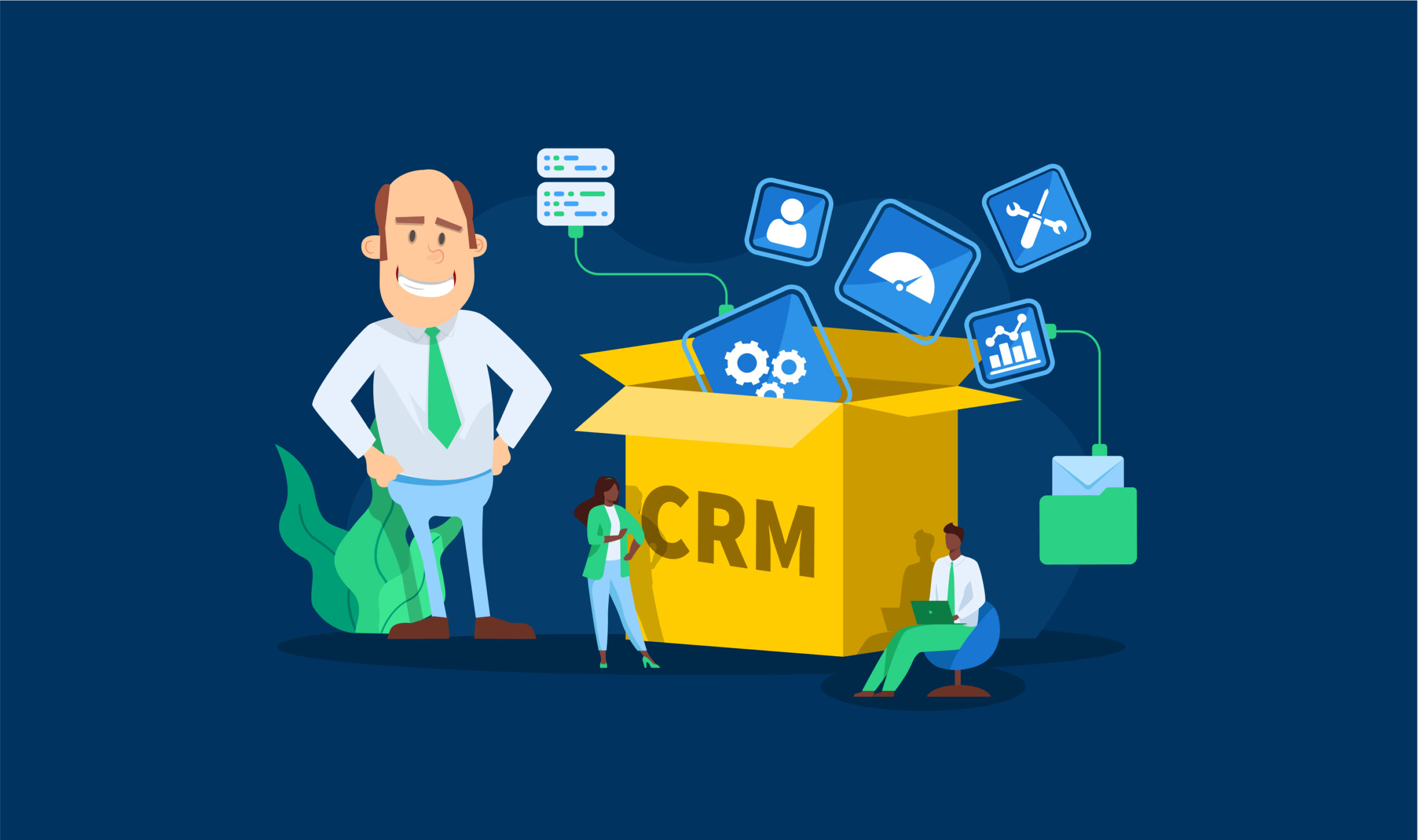 How Small Service Tax Businesses Can Benefit from a CRM System (Without Spending Too Much Time and Money)
