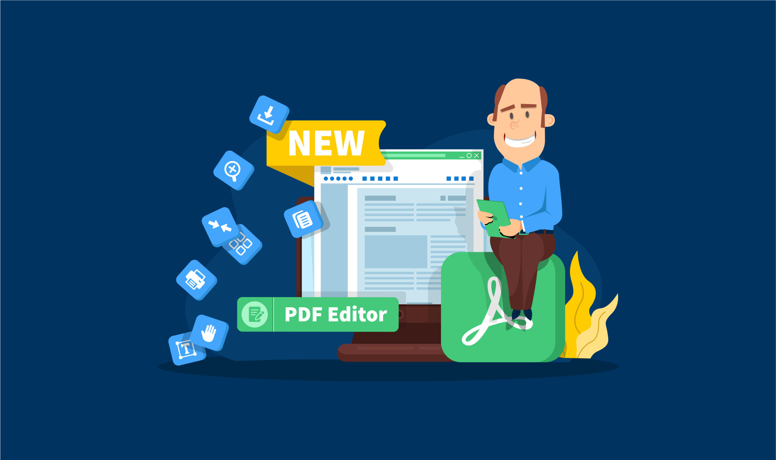 Introducing Built-in PDF Editor: Replace Adobe Acrobat and Other Tools