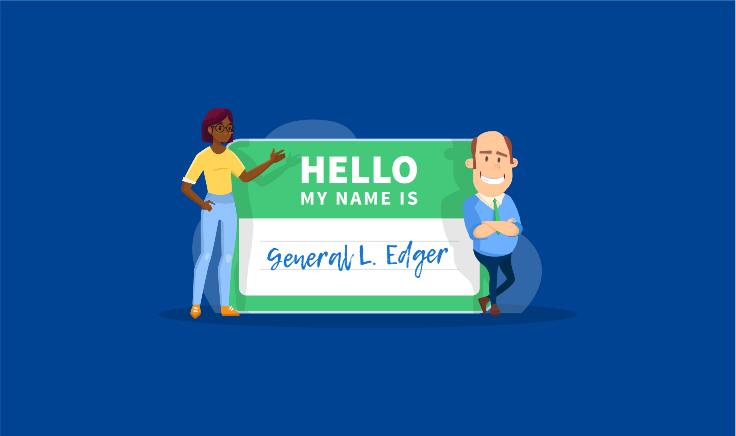The Mascot Contest is Over: Meet General L. Edger