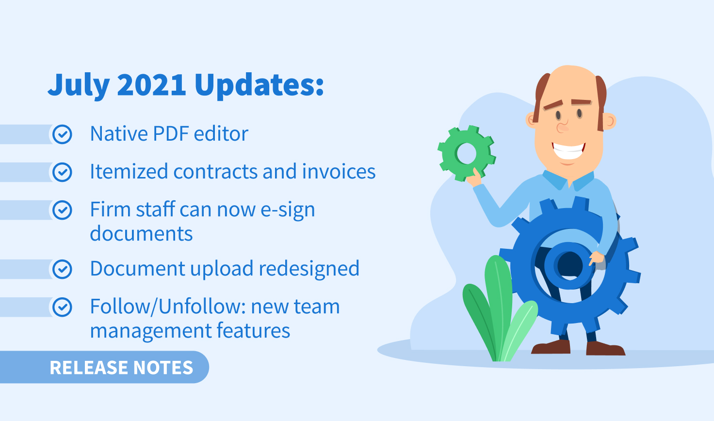 July 2021 Updates