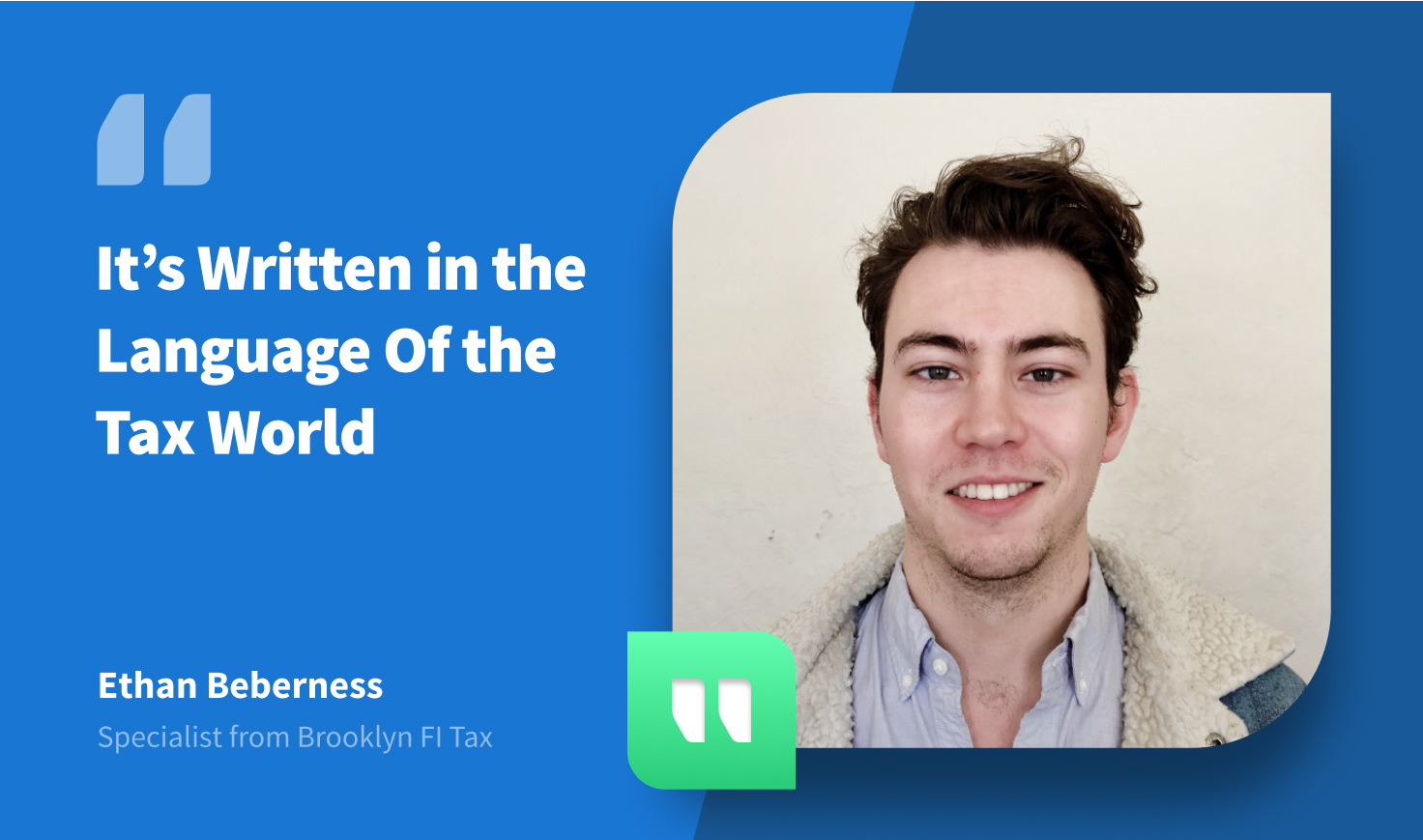 CPA Firm Brooklyn FI Tax on TaxDome: 'It's Written in the Language Of the Tax World'