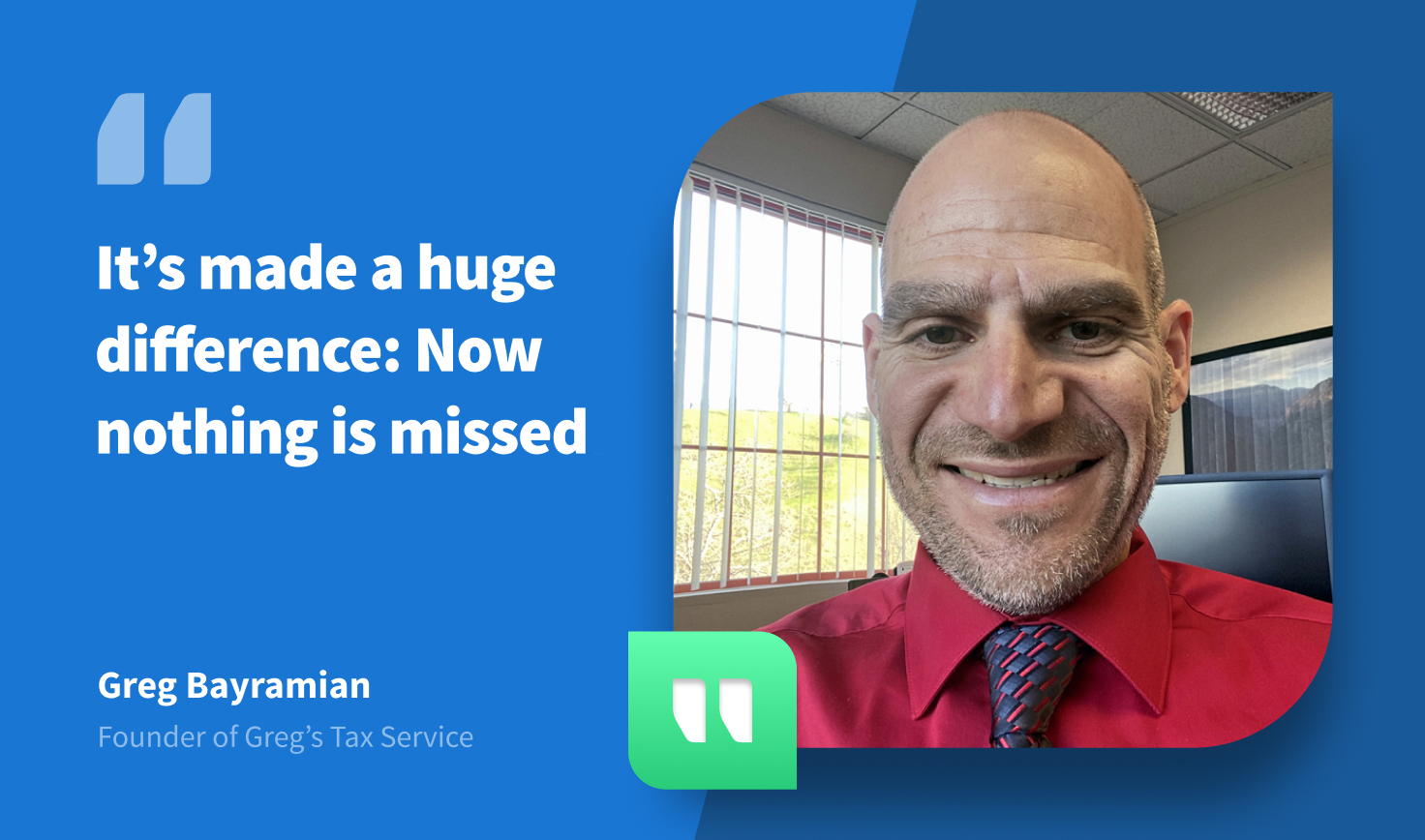 Why TaxDome is Unique, According to Greg's Tax Service