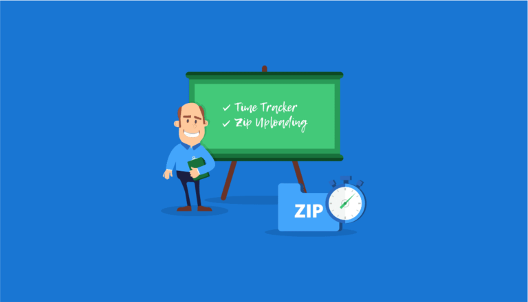 What's New: Time Tracker, Zip Uploading, and More