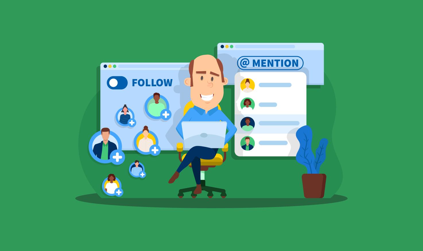Communication d'équipe solide dans TaxDome: Introduction des @Mentions et des Abonnés aux comptes