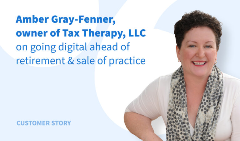 Tax Therapy Experience: Going Digital Ahead of Retirement & Sale of Practice
