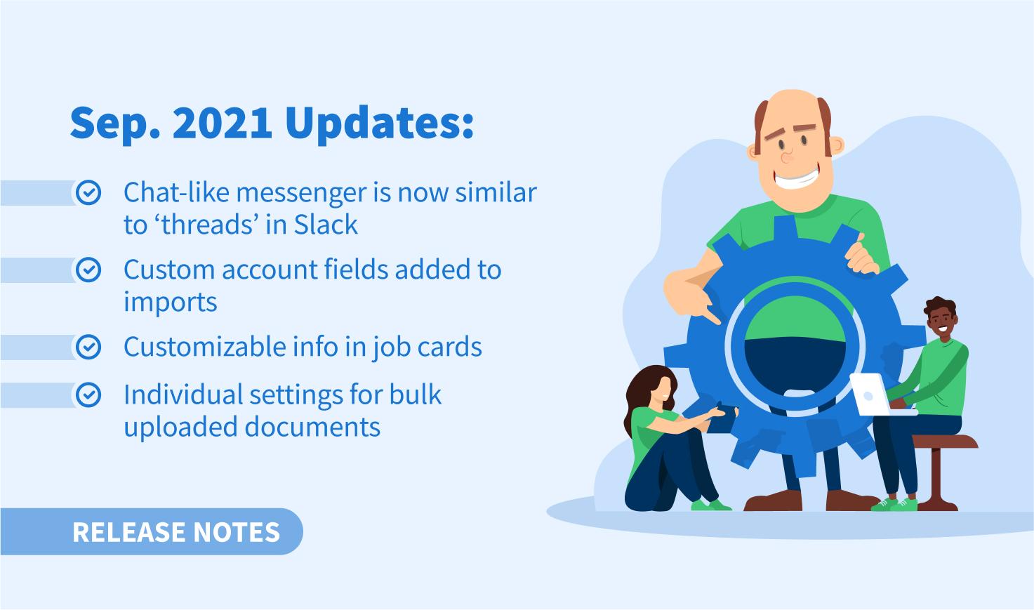 September 2021 Update
